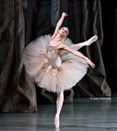 "Yekaterina Kondaurova, Mariinsky Theatre, ""Diamonds""© George Balanchine Trustphoto by Gene Schiavone"