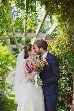 A Delightfully Colourful and Handmade 1940′s Vintage Inspired Wedding | Love My Dress® UK Wedding Blog