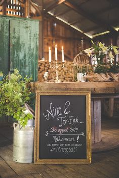 Barn Wedding - Låve Bryllup av Børresen & Raak: http://www.norwegianweddingblog.com/2015/03/lavebryllup-fra-inderoy-av-borresen-raak.html