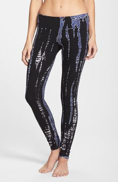 Free shipping and returns on Hard Tail Tie Dye Leggings at Nordstrom.com. Topped by a comfortable and flattering flat waistband, these soft, stretch-cotton leggings achieve edgy street cred in a tie-dye snakeskin print.