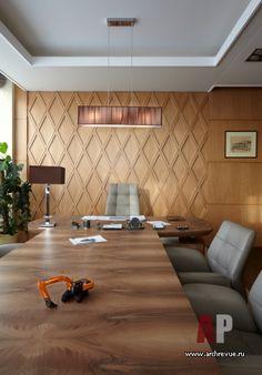 Фото интерьера кабинета офиса в современном стиле