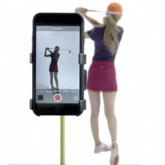 Golf Tips For Beginners Record Golf Swing - Cell Phone Clip Holder and Training Aid by SelfieGOLF TM - Golf Accessories The Winner of the PGA Best New Product of 2017 Compatible With Any Smart Phone, Quick Set Up, Black - Golf 2, Play Golf, Golf Ball, Golf Training Aids, Golf Putting Tips, Bags Travel, Golf Drivers, Golf Instruction, Golf Tips For Beginners