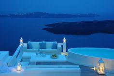 Aqua luxury suites Santorini, Greece, amazing hotel