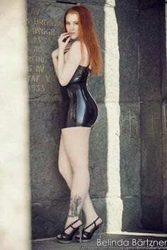 Model pics latex from Varganess Blogg, photo by Belinda Bärtzner <3