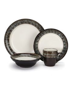 Another great find on #zulily! Cuisinart Colette 16-Piece Dishware Set by Cuisinart #zulilyfinds