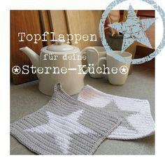 Häkelanleitungen - eBook STERN TOPFLAPPEN - ein Designerstück von KaLaRi_de bei DaWanda