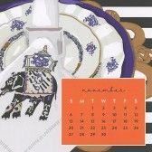 Sweet Caroline Designs Desk Calendar 2016 November