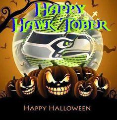 Seahawks & Halloween?! Two of my favorite things!!