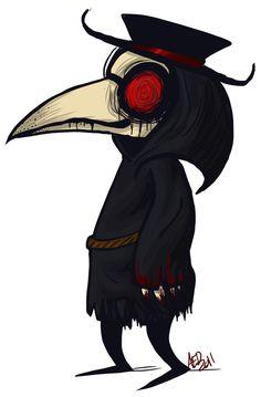 Plague Doctor by DisforDelirium on DeviantArt Fantasy Character Design, Character Art, Plague Knight, Plauge Doctor, Doctor Drawing, Plague Mask, Spooky Tattoos, Bird Masks, Creepy Art