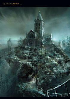 Dark Souls 3 Artbook: World Dark Souls, Dark Souls 3, артбук, Концепт-арт, длиннопост