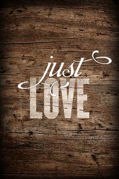 """Just Love""... <3 <3"