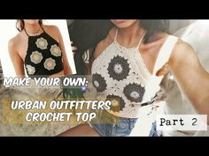 How to Crochet Granny Square Blouse / Top Pattern #26│by ThePatterfamily - YouTube
