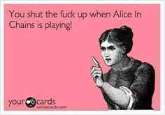 alice in chains thats right! Jerry Cantrell, Layne Staley, Bette Midler, Alice In Chains, Music Memes, Lord And Savior, Photo Dump, Funny, Artwork