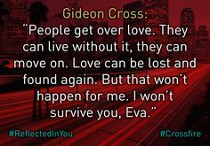 Reflected in You teaser... #GideonCross #Crossfire