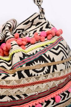 Aztec Pom - Pom Bag from urban outfitters