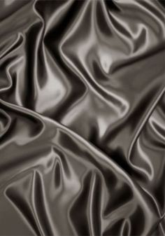 Luxurious silk.