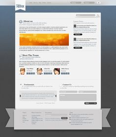 280 best web free psd templates images on pinterest psd templates