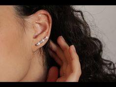 DIY Easy To Make Bobby Pin Earings - YouTube