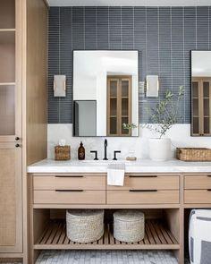 Dream Bathrooms, Beautiful Bathrooms, Modern Bathroom, Master Bathroom, Coastal Bathrooms, Downstairs Bathroom, Home Luxury, Bathroom Renos, Bath Remodel
