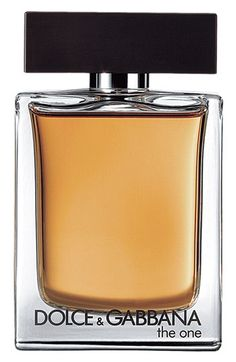 Dolce 'The One for Men' Eau de Toilette Spray; A spicy, oriental fragrance, developed on the harmony of tobacco with refined base notes such as cardamom, ginger, cedarwood and orange blossom.