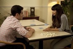 """Old people freak me out. With their hands and their legs. They're like the people version of pleated pants."" (New Girl - ""Backslide"")"