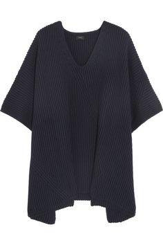 Joseph Chunky-knit wool-blend poncho NET-A-PORTER.COM