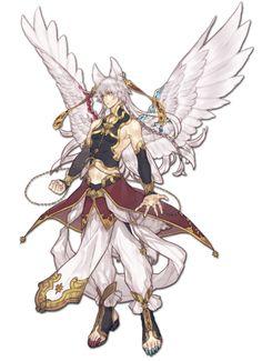 #male #wings #ears #whitehair source: http://www.pixiv.net/member_illust.php?mode=manga&illust_id=47345350