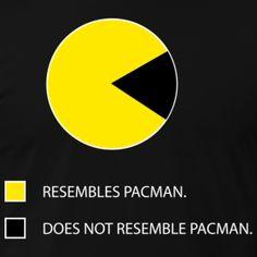 Pac Man pie chart.  more at: http://kooztop5.blogspot.com/2012/05/top-5-funniest-pie-charts.html