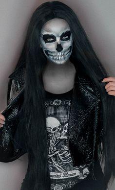 My Halloween skull makeup IG: https://www.instagram.com/Noemisparkle YT: https://www.youtube.com/NoemiSparkle #halloween #makeup #skull #rickgenest #noemisparkle #noemi #noemimakeup #skeleton #kosciotrup #polska # szkielet #makeupartist #art #makijaz #noemimakijaz #sfx #halloweenideas #diy #costumes #popular #talent #instagram