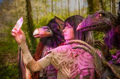 Skeksis and Jen the gelfling.  Costumes made by Fairy-Tailor.  Photo: Lennart Tange