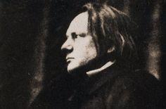 Victor Hugo (1802-1885), 1854. Photo d'Auguste Vacquerie.