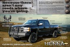 The Texas Trophy Hunters edition Chevy!!