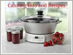 Canning Info & Recipes