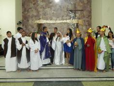 A nossa noite se iluminou... Nasceu o menino Jesus!!!