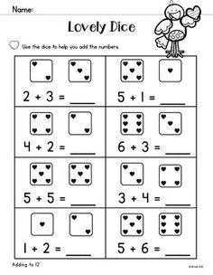 Giochi di matematica sulle addizioni per bambini da - Numero di fogli di lavoro per bambini ...