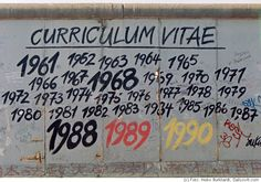 Berlin Wall comes down 89/90