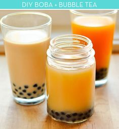 How to make your own boba and bubble tea!
