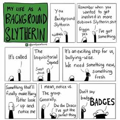 Image result for my life as a background slytherin
