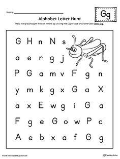 alphabet letter hunt letter f worksheet alphabet letters preschool letters letter f. Black Bedroom Furniture Sets. Home Design Ideas