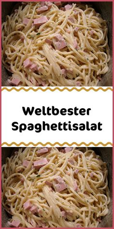 """Ingredients 500 g spaghetti salt water 1 cup sour cream 1 cup sour cream 300 ml vegetable broth instantly strong 1 bunch chives Preparation Cook the spaghetti """"al dente"""" in salt water accord Spaghetti Salad, Best Spaghetti, A Food, Food And Drink, Barbecue Sauce Recipes, Medicinal Herbs, Cherry Tomatoes, Lebanese Cuisine, Food Items"""