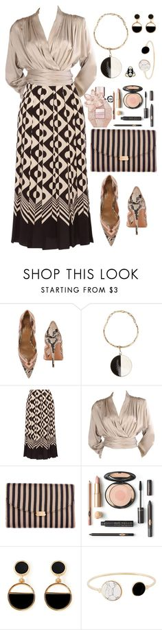 """Untitled #1235"" by montse-gallardo ❤ liked on Polyvore featuring Aquazzura, Etro, Gucci, Yves Saint Laurent, Mansur Gavriel and Warehouse"