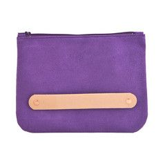 Leather Clutch Purple, $50, now featured on Fab.