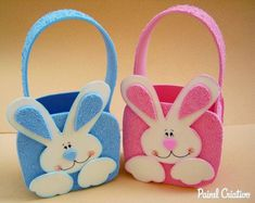 How to make easter eva sacolinha treats children Easter Arts And Crafts, Easter Projects, Hoppy Easter, Easter Bunny, Foam Crafts, Diy And Crafts, Diy For Kids, Crafts For Kids, Gift Wraping