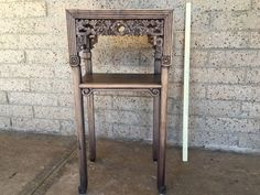 Rosewood Asian End Table