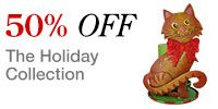50 Percent Off Holiday Collection