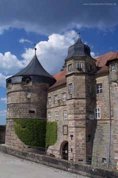 The fortress Rosenberg the landmark of the city of Kronach