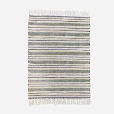 Rami, tapis 60x90 cm, gris et blanc - House Doctor - House Doctor - RoyalDesign.fr