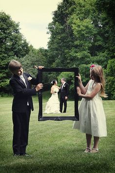 Cute wedding photo :)