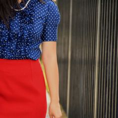 Pretty much want a red pencil skirt