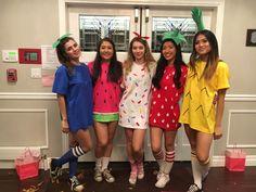 DIY Fruit Halloween Costumes